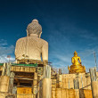 statue of big buddha of phuket — Stock Photo