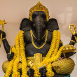 Hindu God Ganesh with Clipping Path - Stock Photo