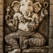 Hindu God Ganesh with Clipping Path — Stock fotografie