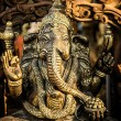 Hindu God Ganesh with Clipping Path — 图库照片