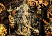 Hinduiska guden ganesh med urklippsbana — Stockfoto