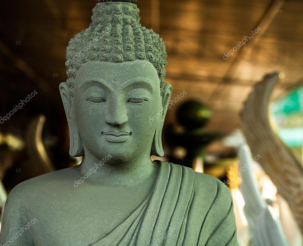 佛上雕像.印度尼西亚-巴厘岛