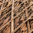 Thatch roof for traditional house in Asia. Background photo. - Lizenzfreies Foto