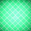Colored tile wall background. Green - Stock Photo