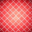 Colored tile wall background. Red. - Stock Photo
