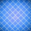 Stock Photo: Colored tile wall background. Blue.