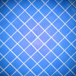 Colored tile wall background. Blue. — Stock Photo #23683381