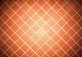 Colored tile wall background. Orange. — Stock Photo