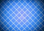 Colored tile wall background. Blue. — Stock Photo