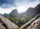 Village in Islands . Southeast Asia — Stock Photo