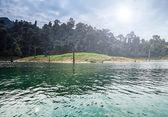 Landscape of tropical island — Stock Photo