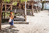 Boy in Thailand village — Stockfoto