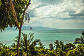 Isola di phangan. thailandia. — Foto Stock