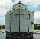 военный корабль — Стоковое фото
