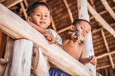 Boys in Thailand village — Stock Photo