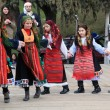 Folklore groups dance on traditional Ash Monday celebrations — Stock Photo #12940747