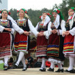 Folklore groups dance on traditional Ash Monday celebrations — Stock Photo