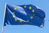 The European Union flag — Stock Photo