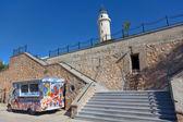Lighthouse in Alexandroupolis - Greece — Stock Photo