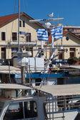 Porto de alexandroupolis - grécia — Foto Stock