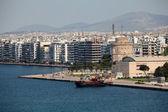 Beach of Thessaloniki - Greece — Stock Photo