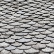 Slate roof tiles — Stock Photo