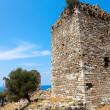 Постер, плакат: Byzantine era tower at Palaiopolis area in Samothraki island of