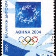 Emblem of 2004 Athens Olympic Games — Stock Photo #22292299