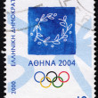 Emblem of 2004 Athens Olympic Games — Stock Photo #22292349