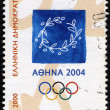 Emblem of 2004 Athens Olympic Games — Stock Photo #22292599