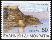 Corfu castle - Greece — Stock Photo