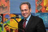 Rector of the Aristotle University Professor John Mylopoulos — Stock Photo