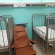 Opening of a new pediatric wing in hospital ''Gennimata''. — Zdjęcie stockowe