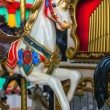 Stock Photo: Vintage carousel or merry-go-round