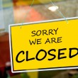 Closed sign — Stockfoto #12455886