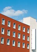 建物の看板します。 — ストック写真