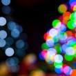Christmas tree lights — Stock Photo