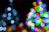 Christmas tree lights — Foto Stock