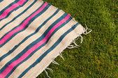 Picnic blanket — Stock Photo
