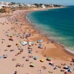 Albufeira beach in Algarve — Stock Photo