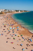 Albufeira beach in Algarve — Stock Photo