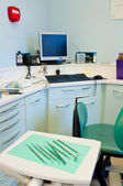 Dental surgery instruments — Stock Photo