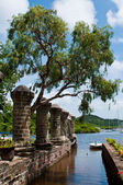 Nelson's Dockyard in Antigua — Stock Photo