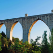 Aqueduct of the Free Waters - Stock Photo