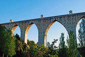 Aqueduct of the Free Waters — Foto Stock