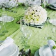 Wedding table — Stockfoto #21164577