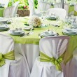 Wedding table — Stockfoto #21375985