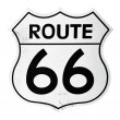 Route 66 sign — Foto de Stock