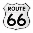 Route 66 sign — Stockfoto