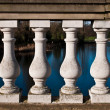 Serpentine Bridge Columns — Foto Stock